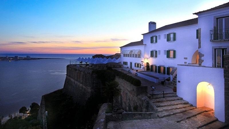 Vista do Castelo de São FIlipe