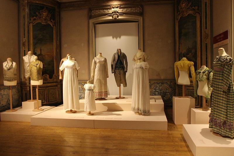 Peças expostas no Museu do Traje em Lisboa