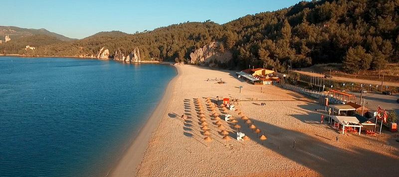Praia de Albarquel em Setúbal