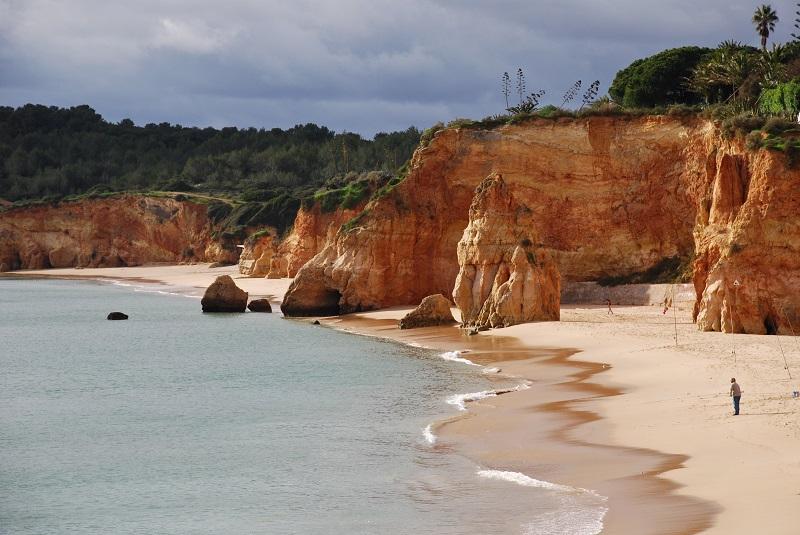 Praia do Vau em Portimão