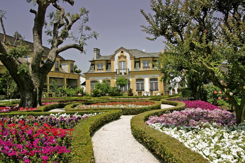 Jardim da Casa-Museu José Maria da Fonseca em Setúbal