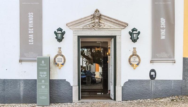 Loja de vinhos da Casa-Museu José Maria da Fonseca em Setúbal