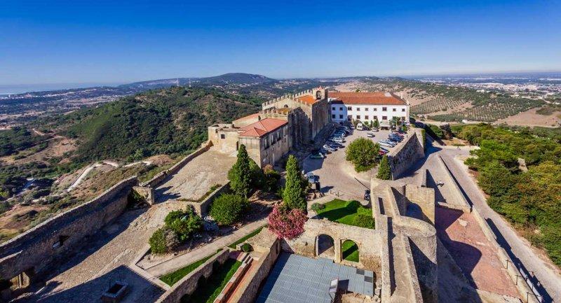 Castelo de Palmela em Setúbal