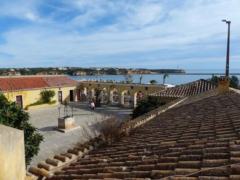 Vista do Forte Santa Catarina em Portimão