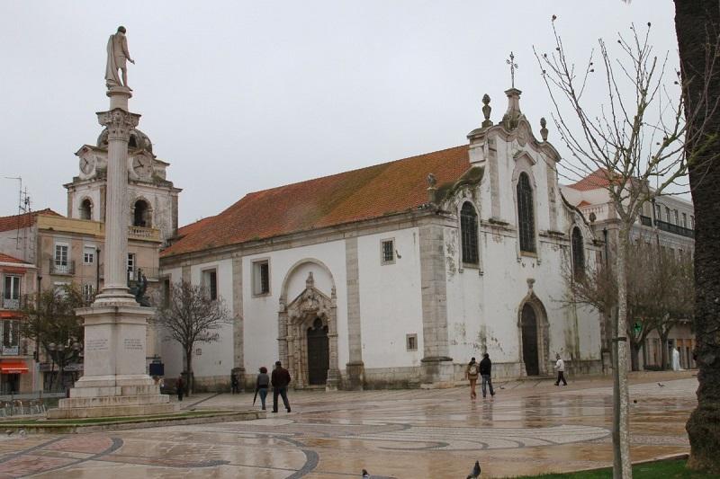 Igreja de São Julião de Setúbal na Praça Bocage