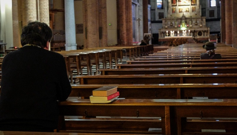 Igrejas durante pandemia em Portugal